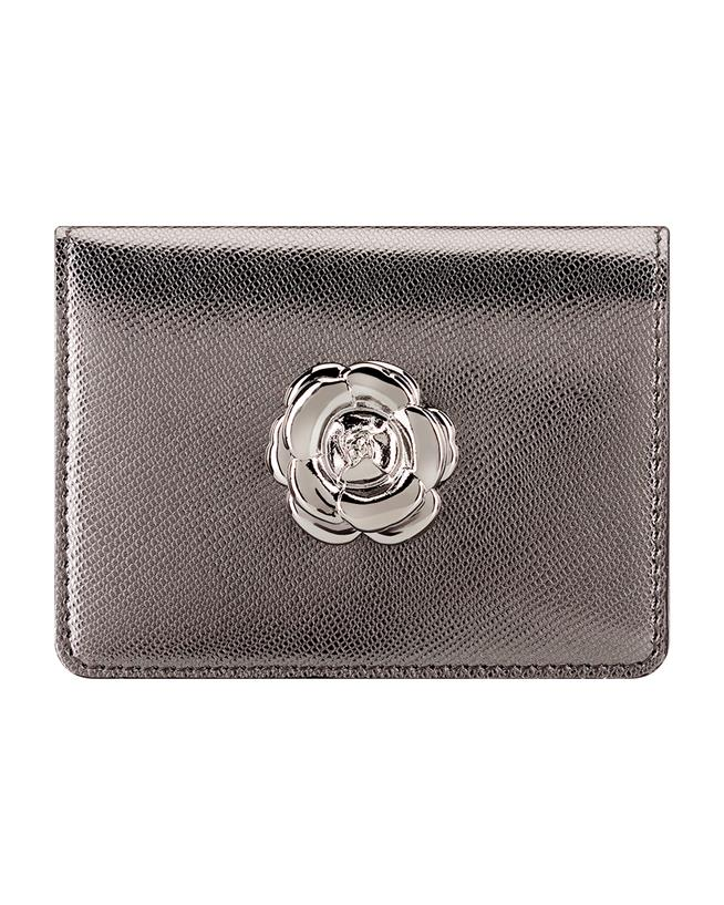Gunmetal Card Case Gunmetal