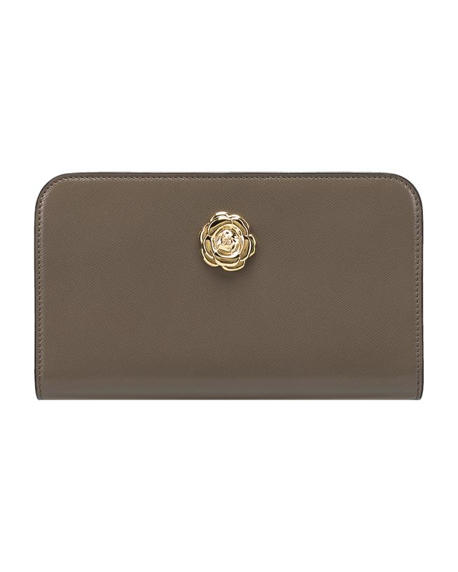 Taupe Travel Wallet TAUPE