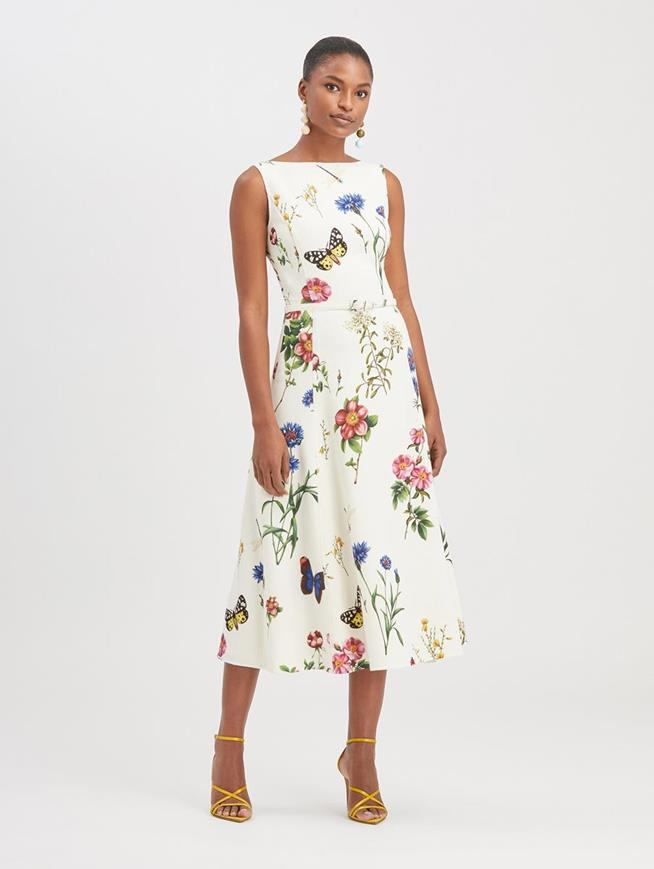 Botanical Garden Dress Ivory
