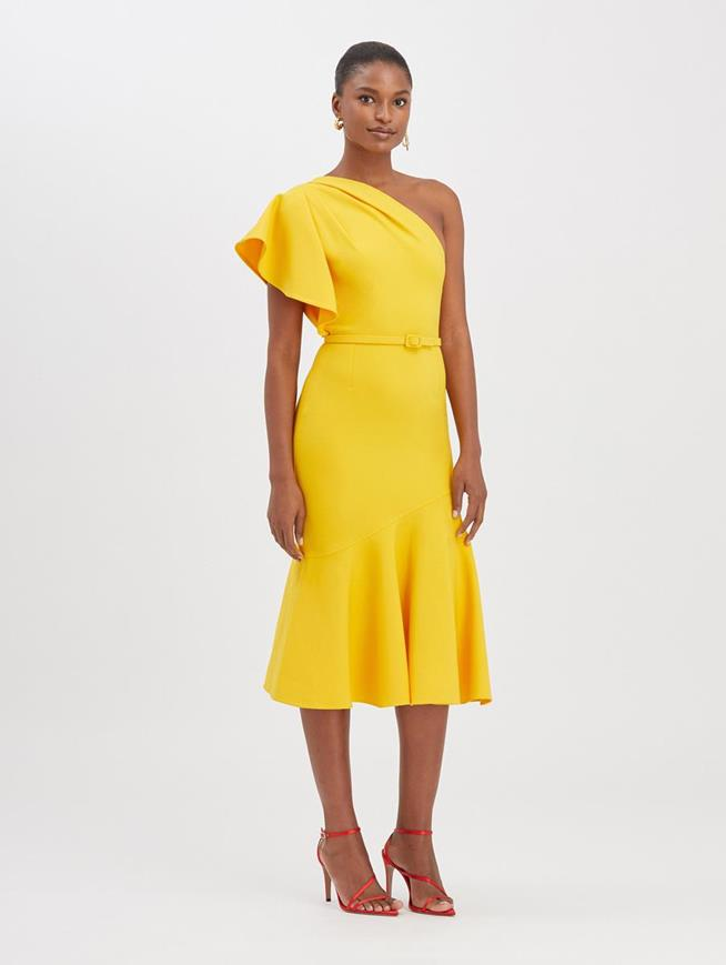 One-Shoulder Dress Mimosa