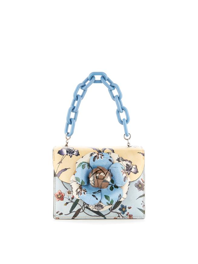Printed Mini TRO Bag  Ecru Multi
