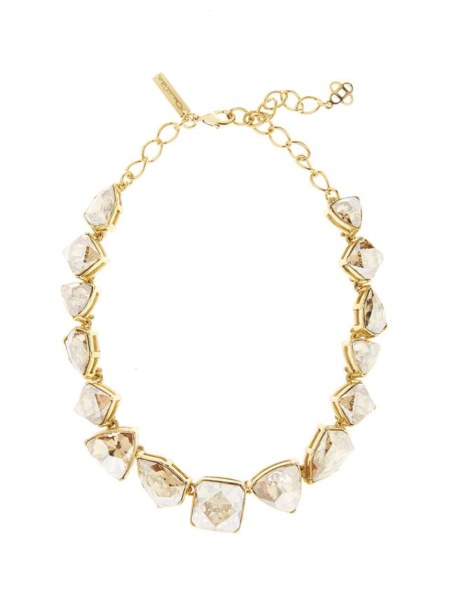 Gallery Crystal Necklace Cry Gold Shadow