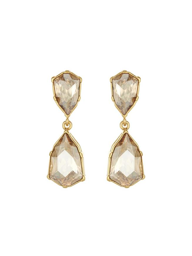 Gallery Earrings Cry Gold Shadow