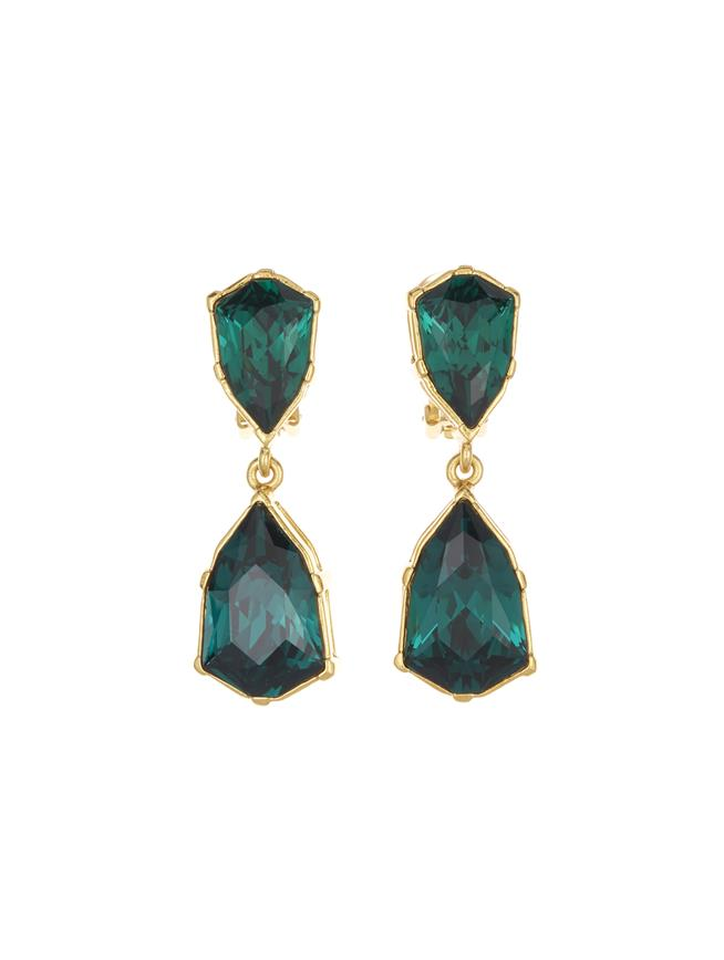 Gallery Earrings Emerald