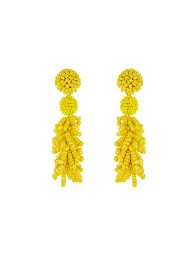 Mimosa Beaded Earrings Mimosa