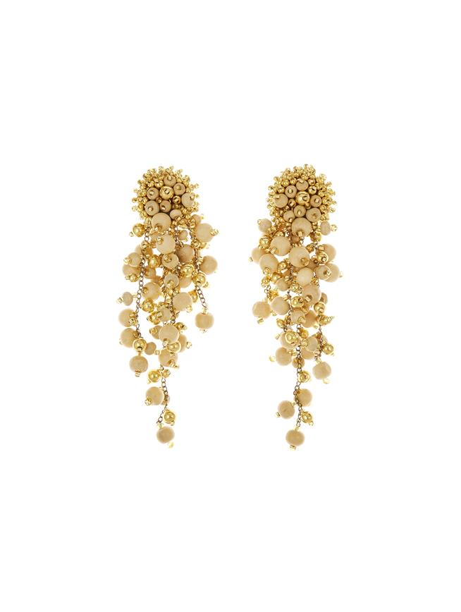Cascade Earrings Ivory