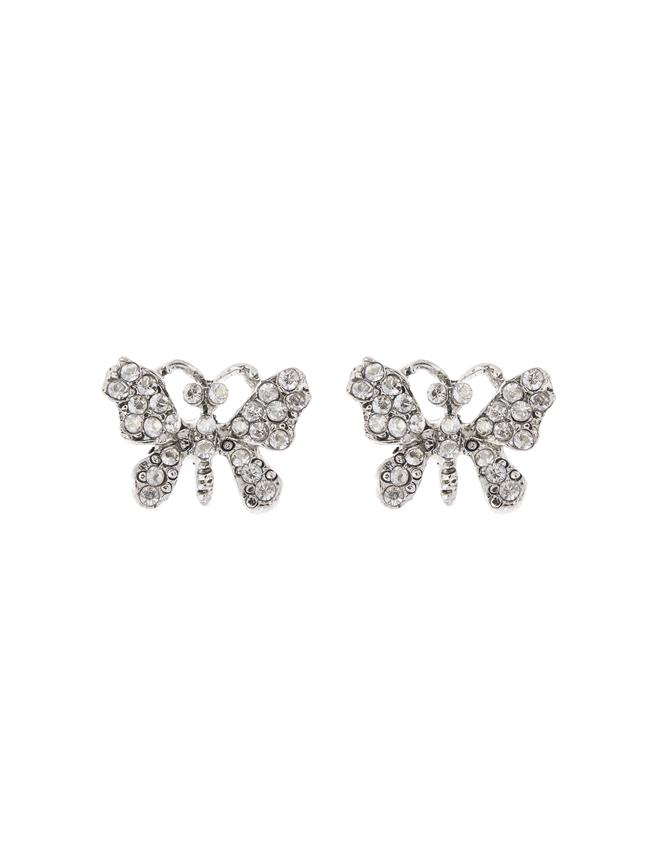 Butterfly Earrings Cry Shade/Silver