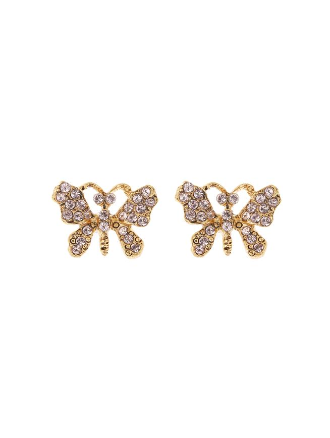 Butterfly Earrings Light Pink