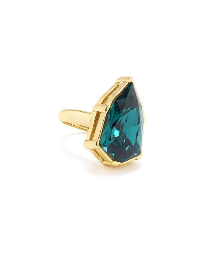 Gallery Crystal Ring Emerald