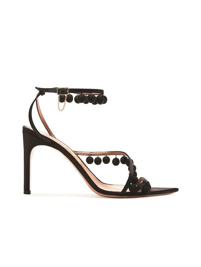 Beaded Sandals Black