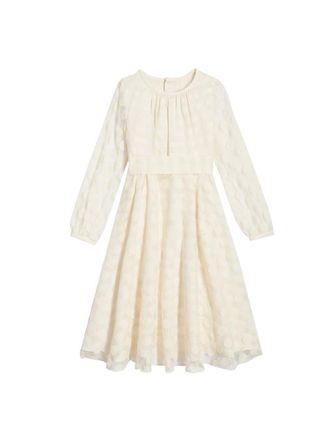 Linen Dress Ecru