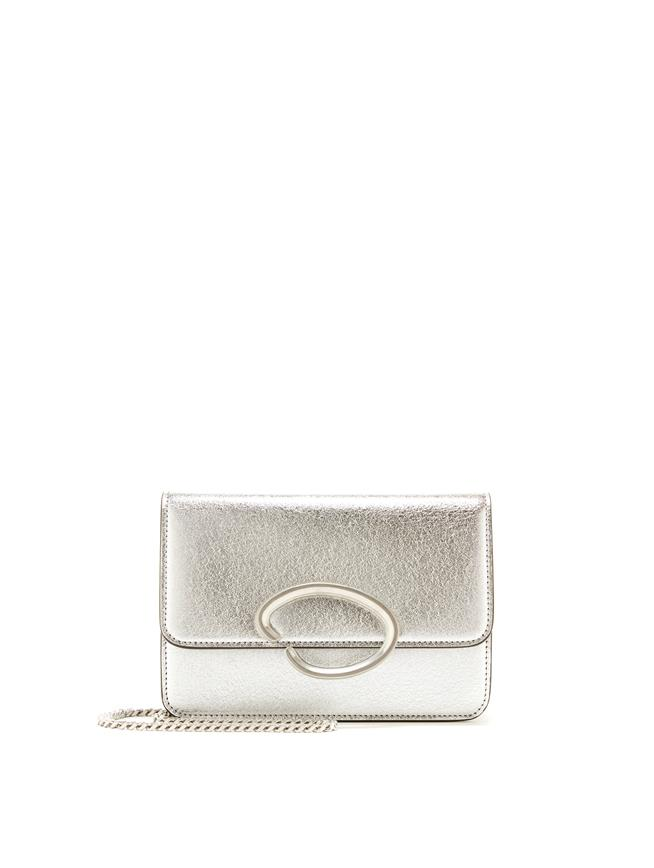 O Chain Wallet Silver