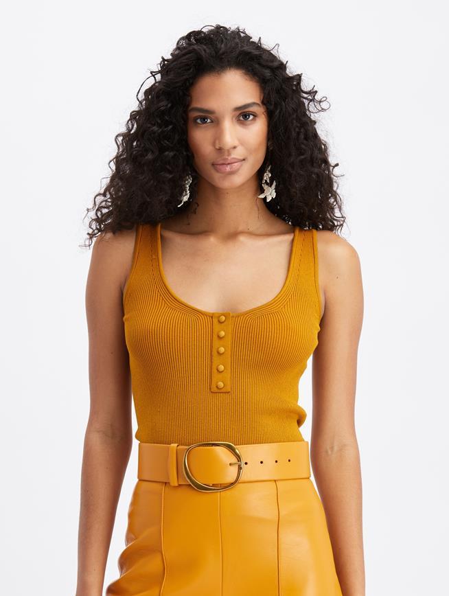Knit Tank Honey