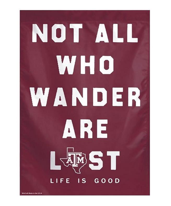 276941b0d79 Life is Good Texas A M Aggie Banner Maroon