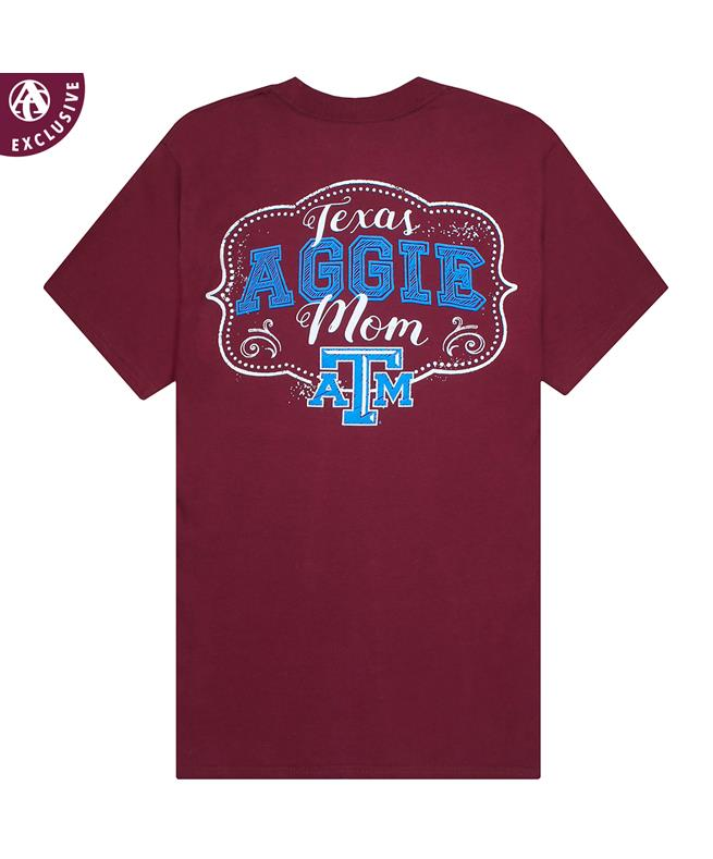 separation shoes 37f9d f02ce Texas A&M Mom Drawn In Chalk T-Shirt