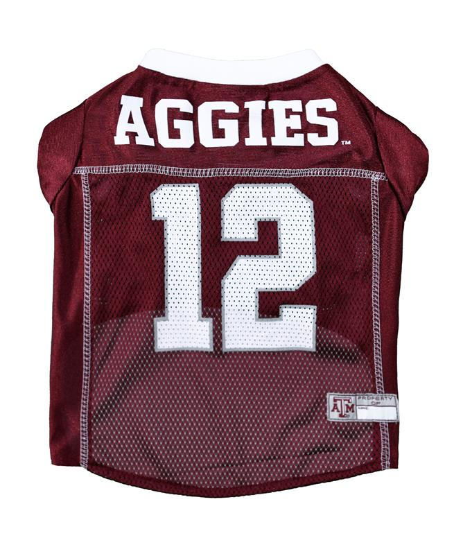 on sale 8b2a8 a03af Texas A&M Aggies Pet Jersey