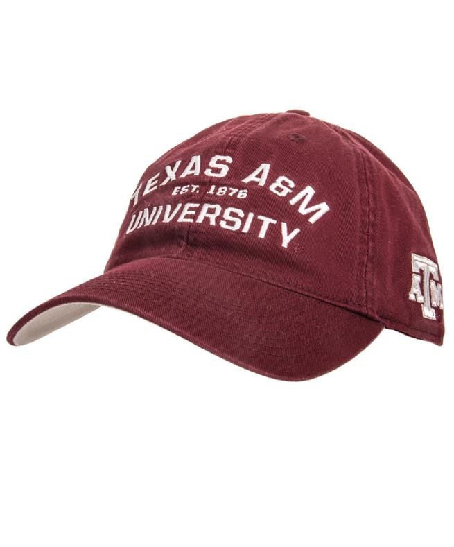 46b184866af Texas A M Adidas University Slouch Front Side Hat Maroon