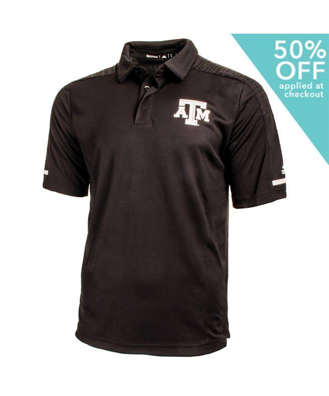 Texas A amp;m Adidas Coaches Aggie Team Polo 5j4RLA