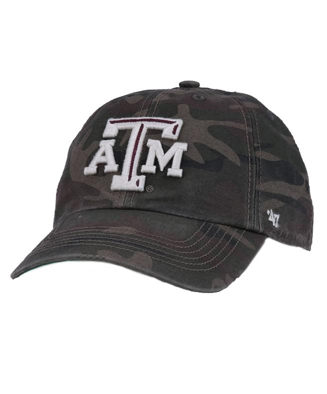 a0b653e39a Texas A M  47 Brand Harlan Franchise Fitted Cap Camo