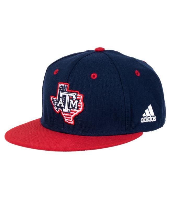 Adidas Texas A&M Patriotic Flat Bill Cap