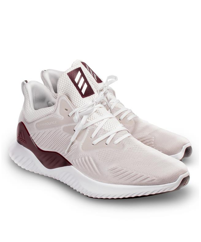 the best attitude 221e8 bad61 Adidas AlphaBOUNCE Running Shoes GreyMaroon  Aggieland Outfi
