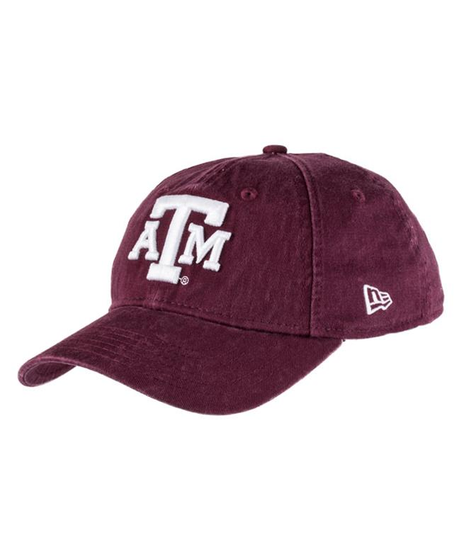 New Era Texas A M Aggie Youth 9twenty Hat Maroon  e400744d806