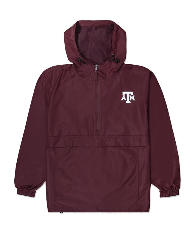 df5cd5c1 Texas AM Packable Jacket Maroon | Aggieland Outfitters