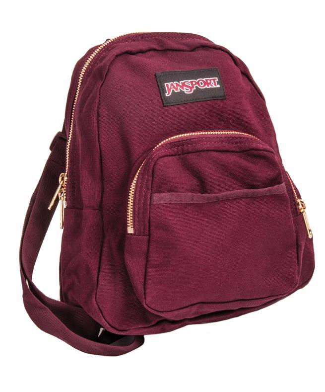 27be7149f0fe JanSport Half Pint FX Backpack Dried Fig Rose Gold