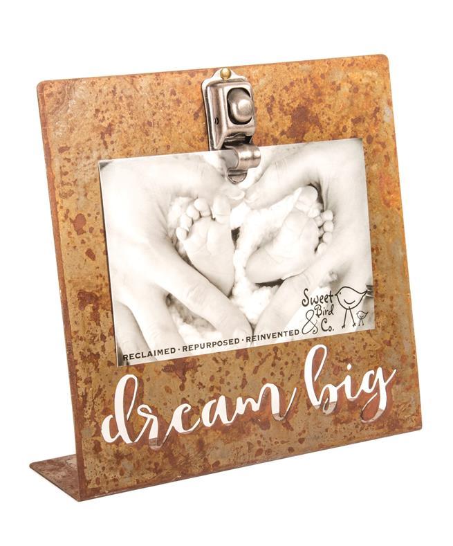 Dream Big Bent Metal Frame