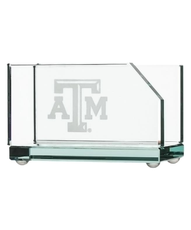 e592830c45598 Texas A M Campus Crystal Business Card Holder Clear