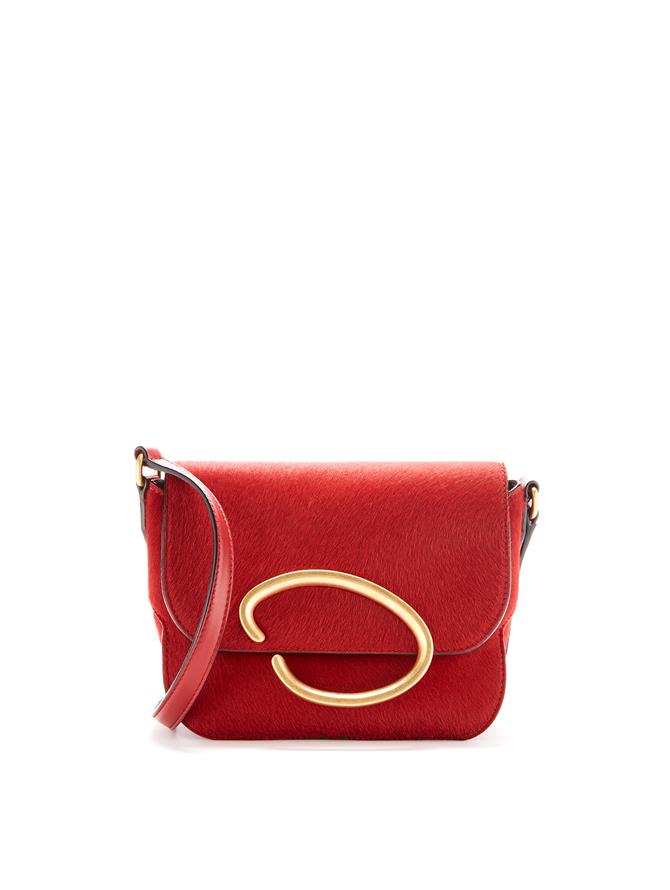 Oath Shoulder Bag   CRANBERRY