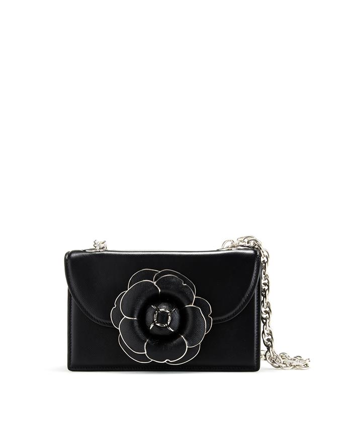 Black Saffiano TRO Bag Black
