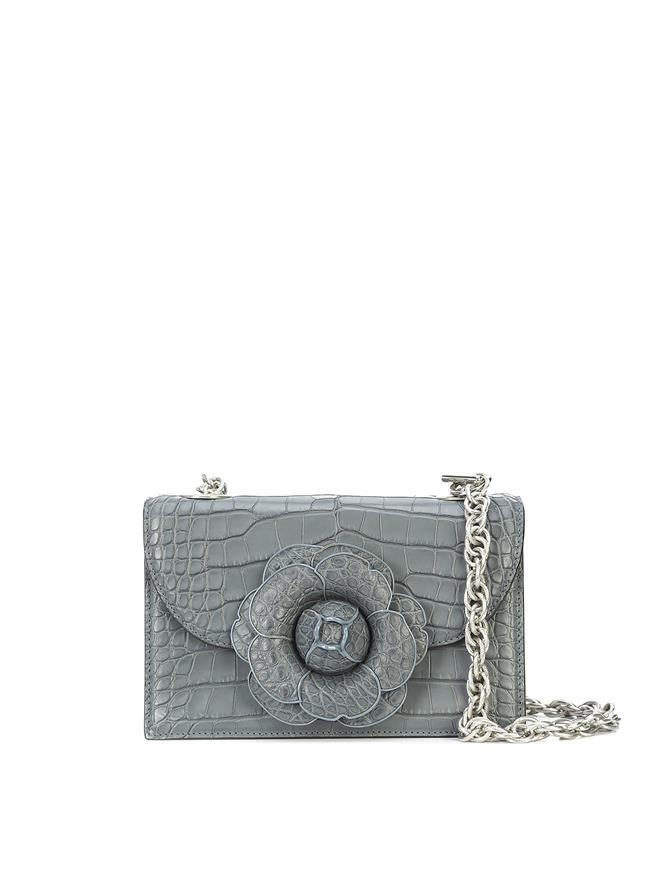 Grey Alligator TRO Bag GREY