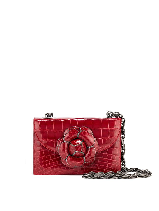 RED ALLIGATOR TRO BAG
