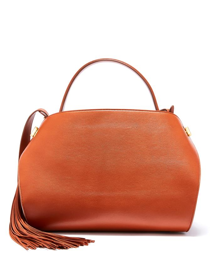 COGNAC LEATHER NOLO BAG
