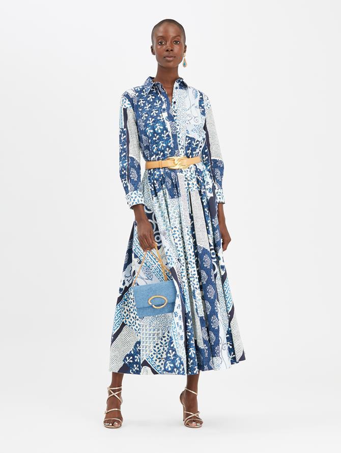 Woodblock Dress