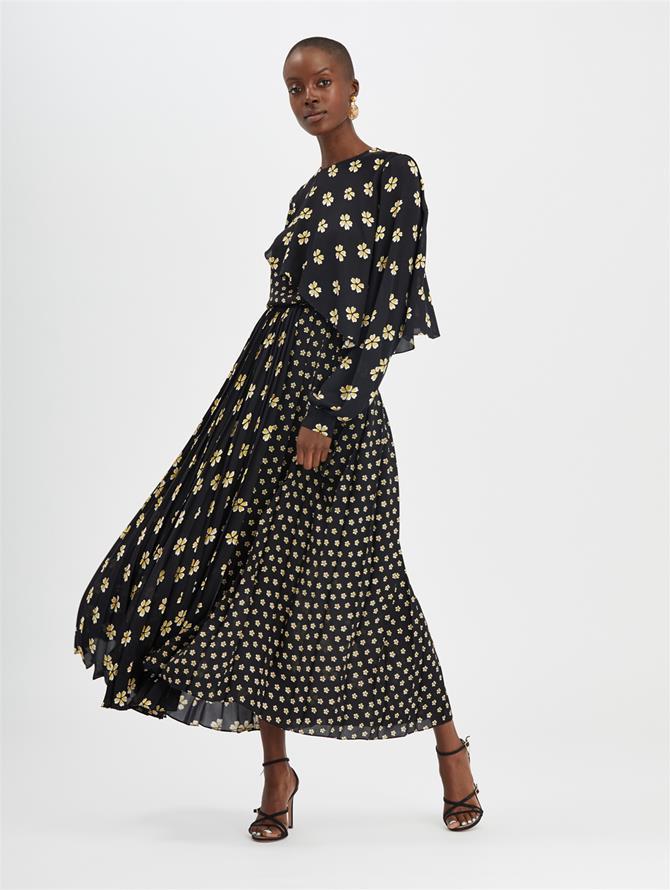 Blossom Pleated Skirt