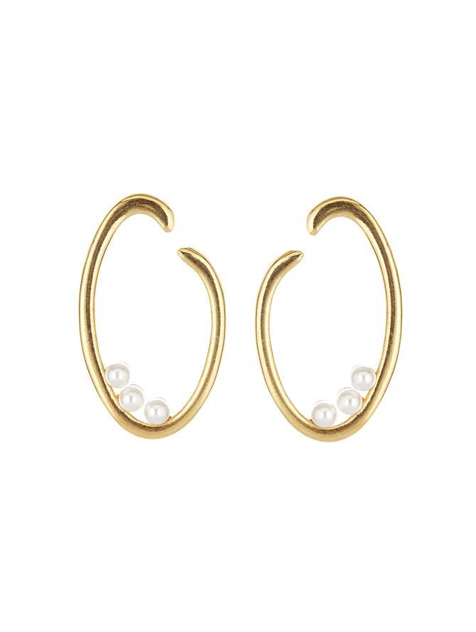 O Logo Earrings