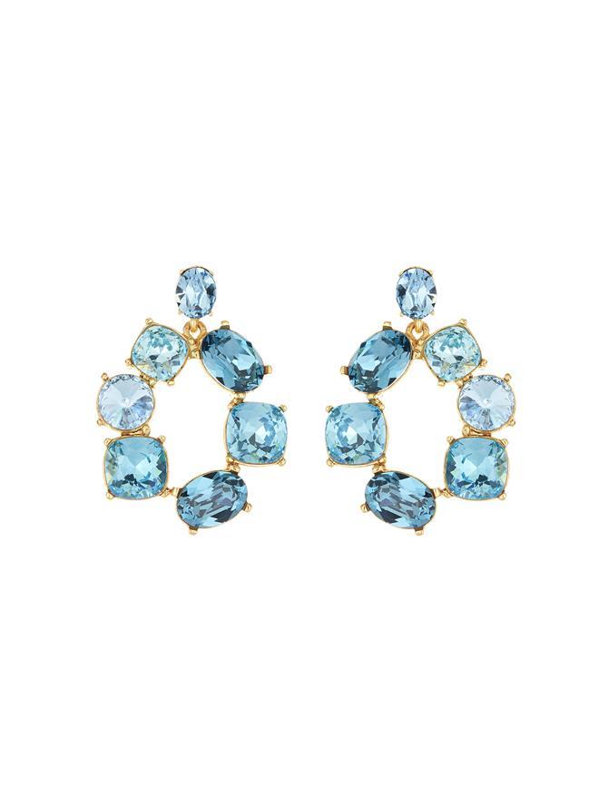 Bold Crystal Earrings