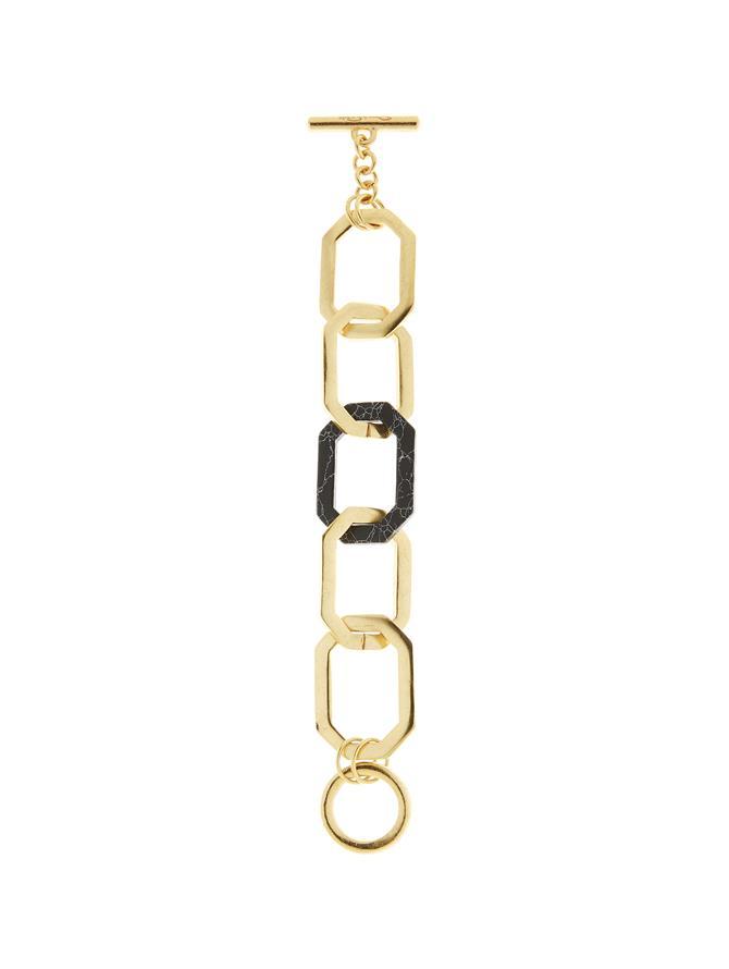 Octagon Link Bracelet