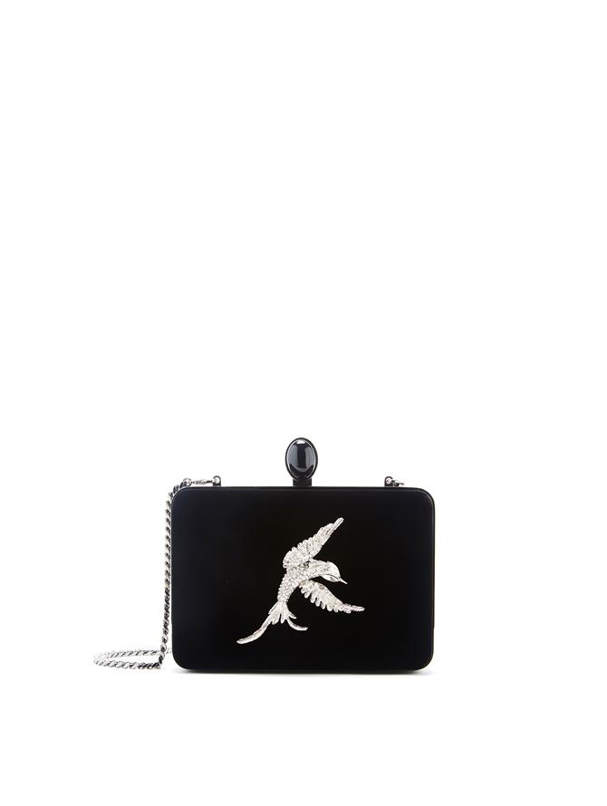 Embroidered Rogan Clutch