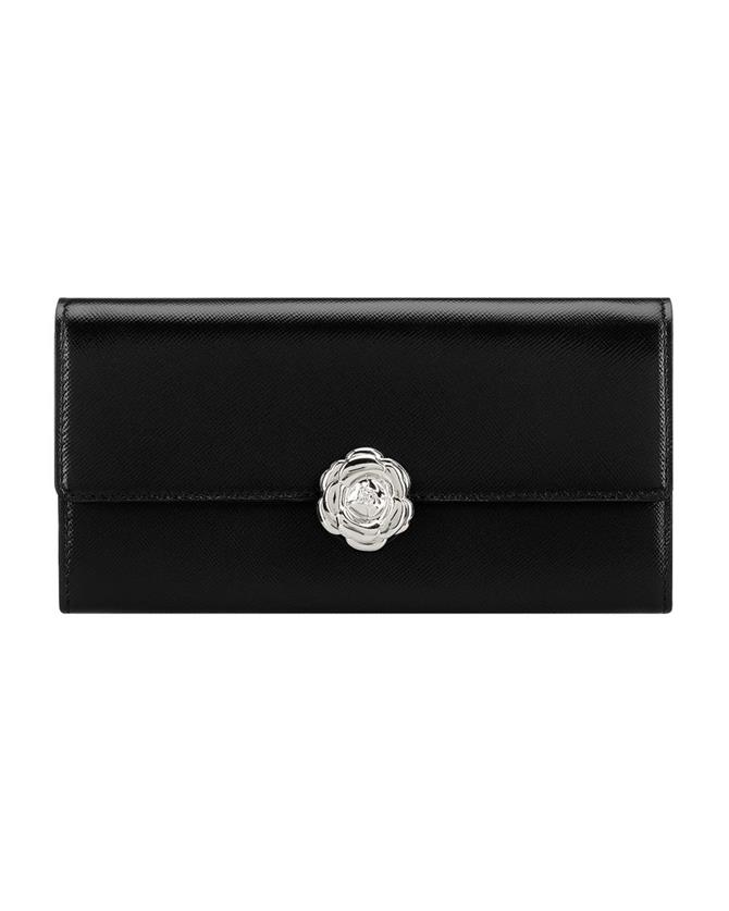 Black Continental Wallet black