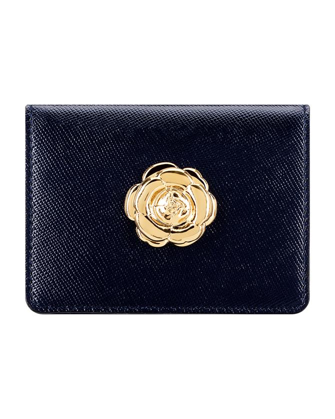 Navy Card Case NAVY