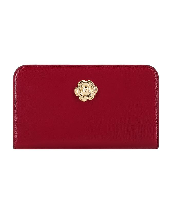 Red Travel Wallet Red