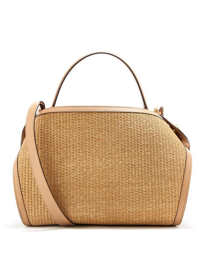 Woven Raffia Nolo Bag