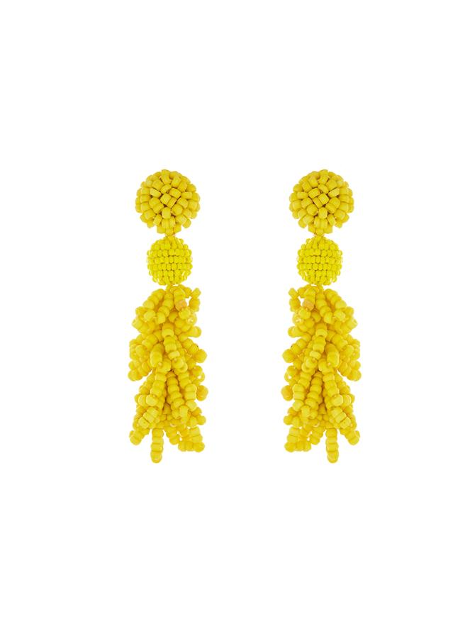 Mimosa Beaded Earrings