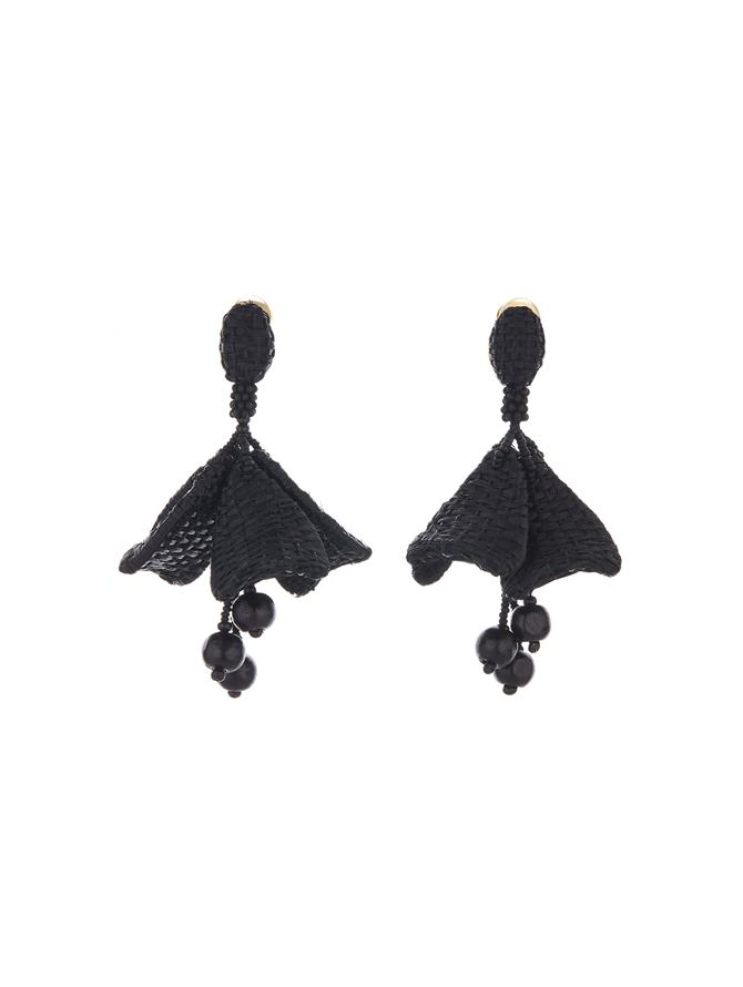 Raffia Impatiens Earrings