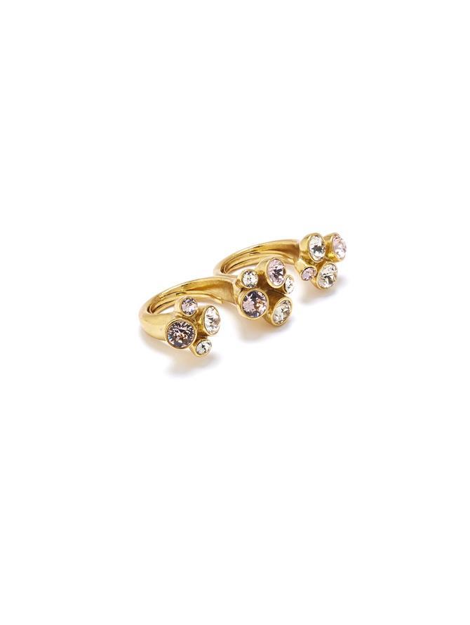 Crystal Ring Light Pink
