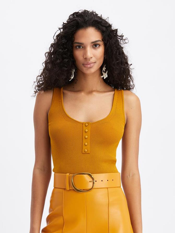 Knit Tank Honey