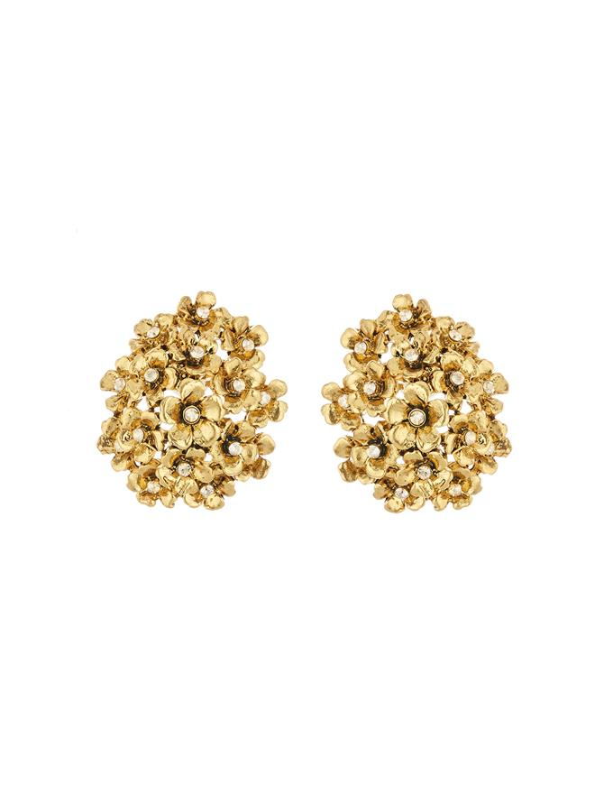 Floral Cluster Earrings